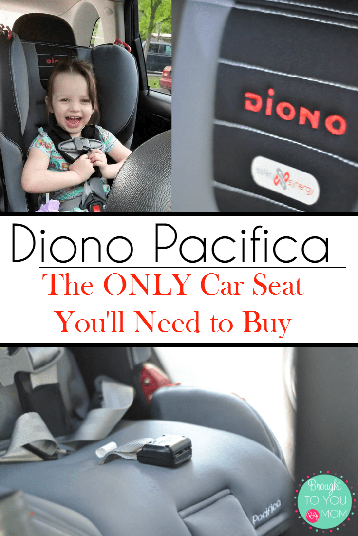 The ONLY Car Seat You'll Need to Buy Diono Pacifica